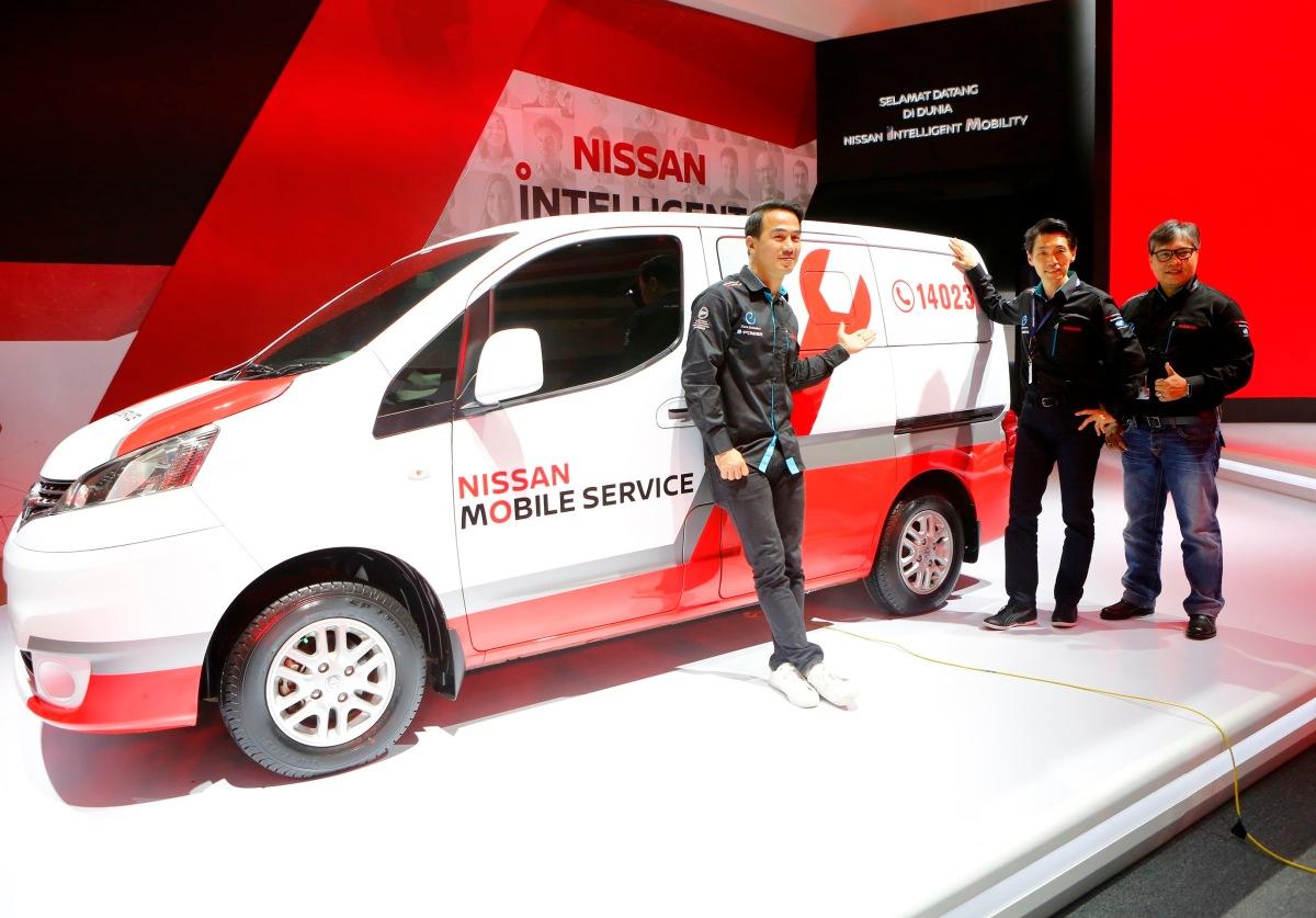 Giias 2017 absen produk baru nissan perkuat layanan for Marketing strategy of nissan motor company